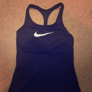 Nike tank with built in sports bra